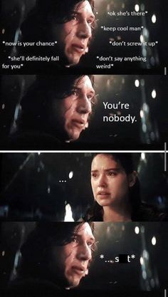 Kylo and Rey shippers rejoice, we found 15 of the funniest Kylo Ren and Rey memes the internet has ever produced! Kylo and Rey shippers rejoice, we found 15 of the funniest Kylo Ren and Rey memes the internet has ever produced! Sith, Kylo Rey, Kylo Ren And Rey, Star Citizen, Star Wars Jokes, Star Wars Kylo Ren, Star Wars Ships, Star War 3, Fandoms