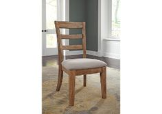 Danimore Light Brown Dining Upholstered Side Chair (Set of 2),Signature Design by Ashley