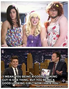 This episode was the best.. the fact the he wasn't an awkward teen girl.. he was just beautiful. Disgusting bahaha #JFallonShow #OMGEW