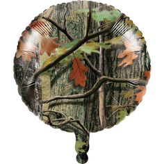 "HUNTING CAMO 18"" Mylar BALLOON Camouflage Birthday Party Supplies Decoration"
