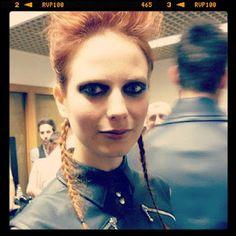 ♥Flora  Makeup by Sylvielovesmake-up  Moda Lisboa / Lisbon Fashion Week AW2012