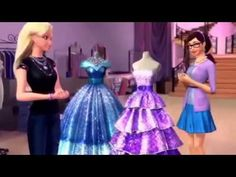 46 Best Barbie And The Fashion Fairytale Images Barbie Fairy Tales Barbie Movies