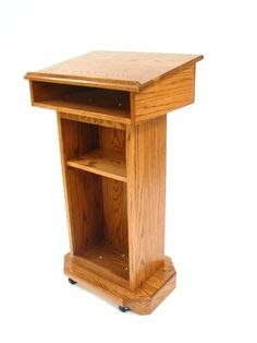 Amazon.com : Senator Wood Podium : Lecterns : Office Products