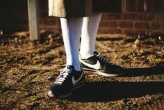 Brown Pride Nike Cortez