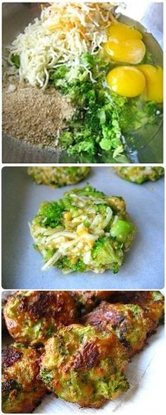Broccoli Bites by staceyssnacksonline via ilovetocook: A hit with both adults and kids. #Appetizers #Broccoli #Healthy