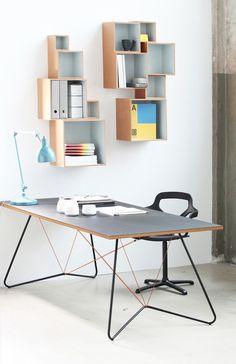OK Design on a string table | ELLE Decoration NL
