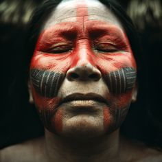 Portraits at Motukore Tribe Tribes Of The World, People Around The World, Forest People, Xingu, Indigenous Tribes, Arte Tribal, Foto Art, Many Faces, Portraits