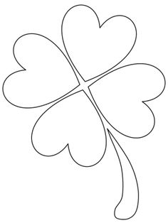 shamrock picture 15 activity saint patricks day coloring pages - Printable Shamrock Coloring Pages