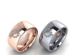 Zen Diamonds-Brilliantring inspiriert vom Geist des Zen