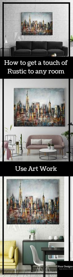 Hi guys Just look at this Rustic beauty. I love this art work, the mix of colours in such a sumagy way. It will look great in any modern contemporary home. #artmodernhome #contemporaryart #rusticdecor #homestyle #homedecor #canvasprint #wallhanging #painting #furniture #framedart