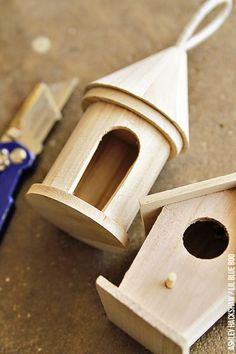 How to make a fairy house from a small birdhouse