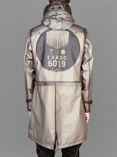 Stone Island Shadow Project 2014 S/S  Grid R Reverse Overdyed Parka