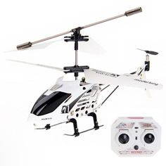 Channel Alloy RC Helicopter w/ Gyro White