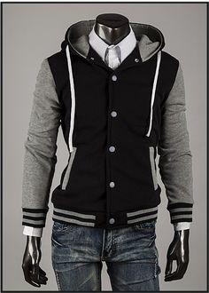 Item Type: Hoodies, Fleece, Varsity Jackets Gender: Men Clothing Length: Regular Sleeve Style: Regular Closure Type: Single Breasted Style: Fashion Fabric Type: