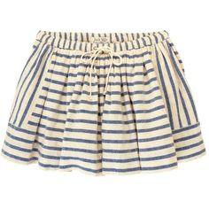 Lawson Skirt ($70) ❤ liked on Polyvore featuring skirts, mini skirts, bottoms, saias, faldas, cotton mini skirt, stripe skirt, striped mini skirt, striped cotton skirt and pocket skirt