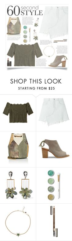 """Stay Natural"" by infinite-sea ❤ liked on Polyvore featuring Hollister Co., Sandy Liang, Jérôme Dreyfuss, TOMS, Marni, Terre Mère, Selim Mouzannar, Clarins, Illamasqua and asymmetricskirts"