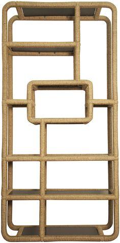 Noir Furniture, Www.noirfurniturela.com, Taro Bookshelf, Rope, GBCS142
