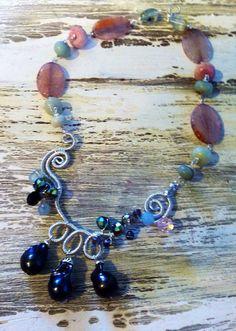 Mermaid's Pearls on Etsy, $78.00