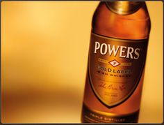 Powers Irish Whiskey - my favorite Irish Whiskey on those days that Bushmills is not my favorite...