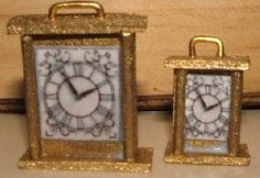 how to: Victorian carriage clock