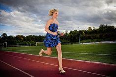 Julia Plecher - Fastest 100m in High Heels