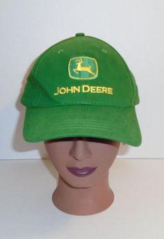 John Deere Unisex Adjustable Green Hat Cap Hat Nothing Runs Like a Deere #JohnDeere #BaseballCap