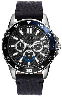 Esprit For Men Analog, Casual Watch Casual Watches, Watches For Men, Black Models, Casio, Egypt, Latest Fashion, Quartz, Michael Kors, Band