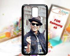 Bruno Mars - design for Samsung Galaxy S5 Black case