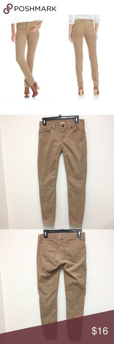 J. Crew Skinny Stretch Corduroy Toothpick Cords 24 See pictures for details and condition.   ❌NO Trade.  ❌Lowball Offer Will be IGNORED&BLOCKED.  ⚡️Serious Buyer ONLY⚡️NO DRAMA! ⭐️Same/next day shipping via USPS ⚠I video record all sales from packing to shipping so we are both protected ⚠ J. Crew Factory Pants Skinny