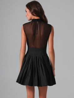 this would be 10x cuter if it was a tiny shorter..but every girl needs a simple black dress am i right?