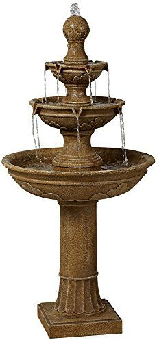 Stafford Three Tier 48 High Indoor  Outdoor Fountain ** You can find more details by visiting the image link. (This is an affiliate link and I receive a commission for the sales) #OutdoorFurniture