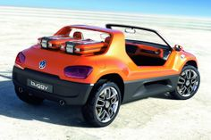Word Has It Volkswagen Is Developing an ID Electric Beach Buggy: Volkswagen might be working hard to broaden its… Volkswagen New Beetle, Electric Beach, Go Car, Car Hd, Combi Vw, Sand Rail, Beach Buggy, Vw Up, Diesel