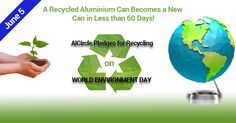 AlCircle Pledges for Recycling on #worldenvironmentday