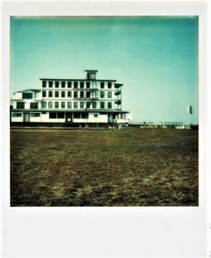 Walker Evans, Untitled, [1973-1974]  color photograph taken with Polaroid