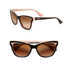 Prada's cat-eye shades are a hit amongst style icons Miranda Kerr, Olivia Palermo, Scarlett Johansson and Cate Blanchett. More Summer Fashion here: http://balharbourshops.com/fashion/fashion-news/2983-beach-chic