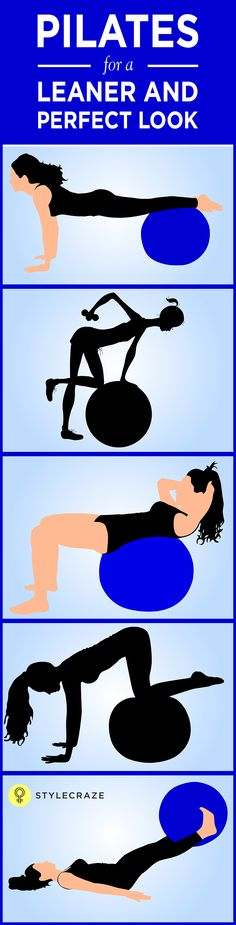 Sometimes the way we exercise is so monotonous, that we don't feel like exercising at all. Have you been thinking of a way of exercising which is both fun and effective? Yes, there is! And it is the Pilates ball! The workouts you can perform with a Pilates ball are both exciting and effective. Here are some of them.  #Pilates