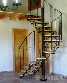 Modern interior design with spiral stairs contemporary for Escaleras de cemento para interiores