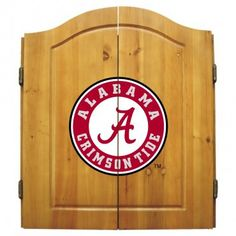Dart Board Cabinet - University Of Alabama. I didn't think i 'd like this az much as i do , really alot of fun . Looks great too.