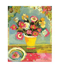 Waterwell Giclee Canvas Print by Kimberly Hodges