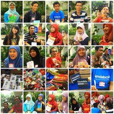 The Face.. at Lendabook Surabaya Meetup (http://lendabook.co)