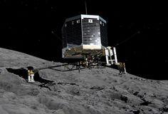 El día en el que todos los ojos del mundo se posaron en un cometa, en el que aterrizó la sonda Philae #espacio #ciencia #rosetta #esa #science #espacio #space