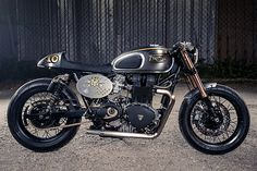 'El Matador 2.0' Triumph Bonneville – Analog Motorcycles