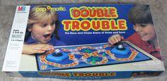Double Trouble Pop O Matic Game 1987 Milton Bradley Complete #MiltonBradley