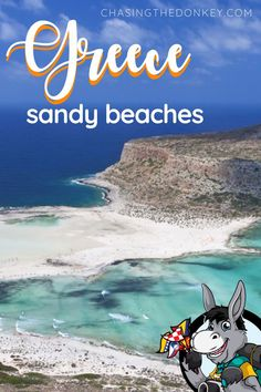 """Greece Travel Blog: Lots of people ask """"are there sandy beaches in Greece?"""" - Yes, yes there are! Here is the list of where to find the best sandy beaches in Greece. #Greece #GreeceTravel #FamilyTravel #TravelTips Skiathos Island, Crete Island, Beach Trip, Croatia Travel, Greece Travel, Travel Destinations Beach, Travel Tips, Seychelles Beach"""