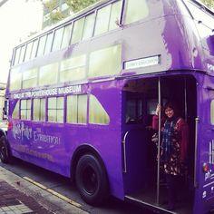 Ride the knight bus... definitely on my bucket list!!!