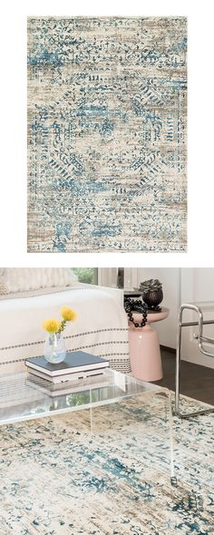 Prepare for the Rustico Area Rug to give your favorite home furnishings a run for their money. With a fabulously eye-catching design and a combination of soothing colors, it's a work of art as well as ...  Find the Kerouac Rug, as seen in the Textile Collection at http://dotandbo.com/category/decor-and-pillows/rugs/textile?utm_source=pinterest&utm_medium=organic&db_sku=119688