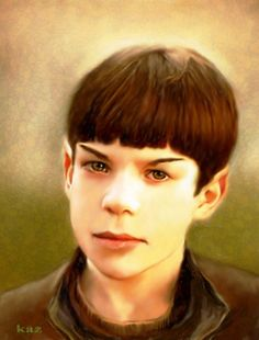 Jacob Kogan As Young Spock by karracaz.deviantart.com on @deviantART