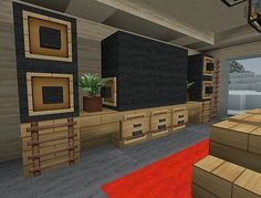 minecraft interior decorating ideas | new interior design concept (I think it's by Z3N0N)