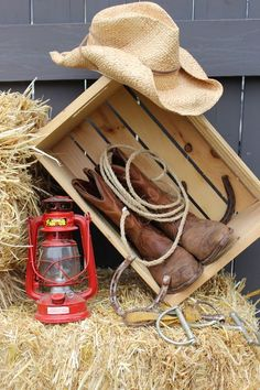 Find this Pin and more on Hoe Down. Calgary Wedding Planner- Classique Weddings And Events. Decorations for western party