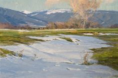 Skip Whitcomb - wonderful artist and teacher. Honored to have painted with him in Colorado.